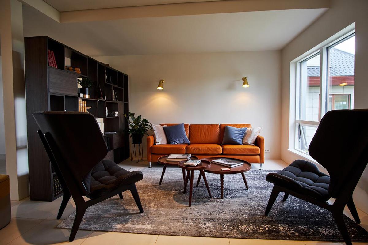 Hótel Berg - Lounge